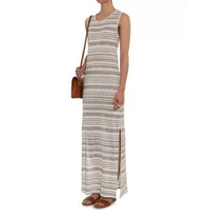 Velvet Graham & Spencer Yuelle Striped Linen Maxi